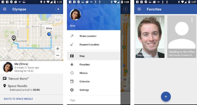 Glympse - Share GPS location